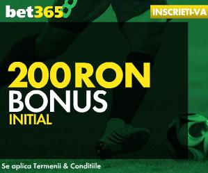 Bet365 - Bonus 200 Ron