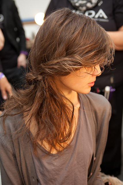 Fall 2011 Rodarte Runway Hairstyle
