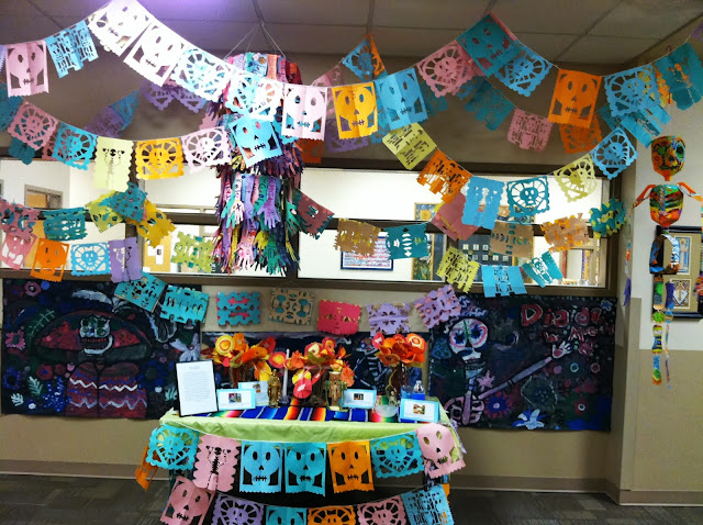 School Day of the Dead Ofrenda
