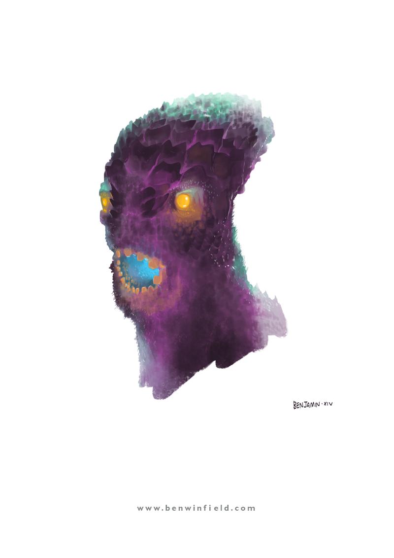 Thumbprint Demon by Ben Winfield