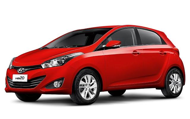 Hyundai HB20 - vermelho