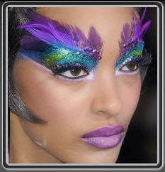 WORLD ARTISTS Showcase Peacock Fantasy Makeup