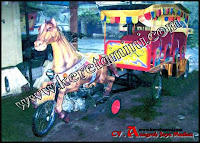 Kereta Mini Kuda Kencana