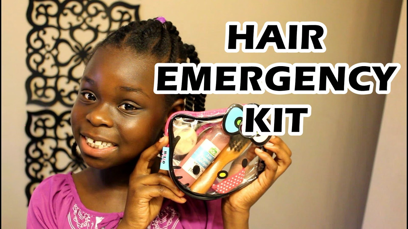 Natural Hair Emergency Kit