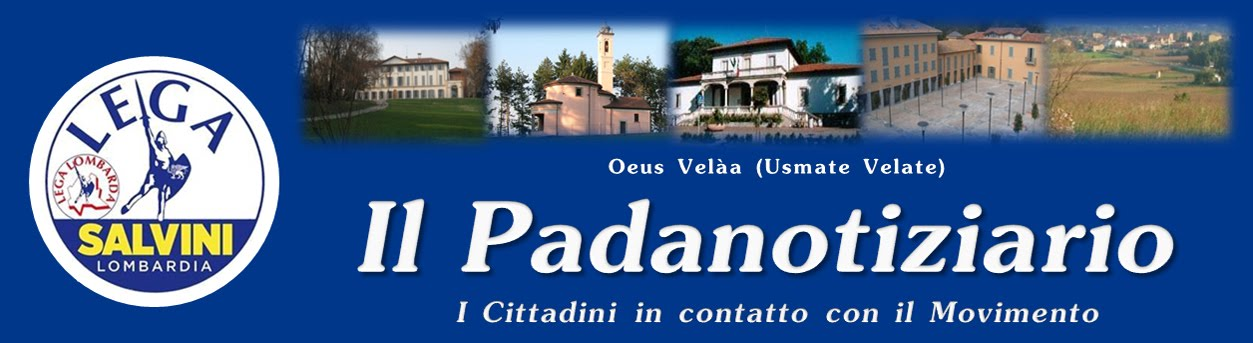 Padanotiziario Lega Nord Usmate Velate
