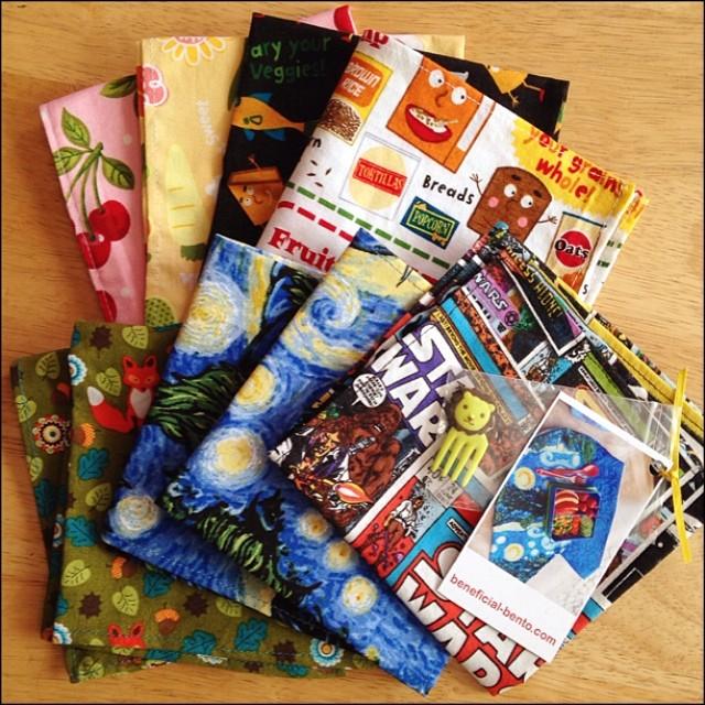Cloth Napkins by Beneficial Bento