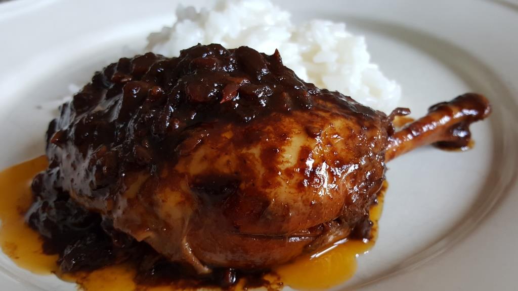 eat-culture: geschmortes Huhn auf indonesische Art (Semoerkip ...