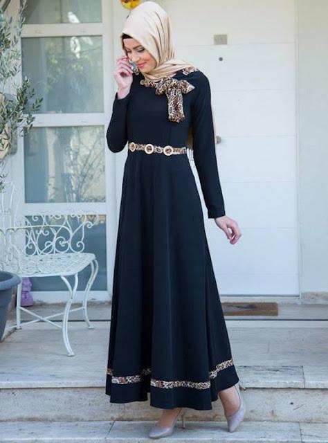 Hijab robe longue