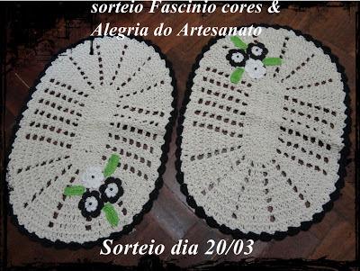 Sorteio Fascinio Cores & Alegria do Artesanato.