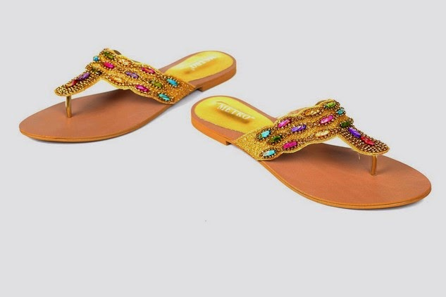 Metro Shoes Eid Collection 2014-2015 for Girls