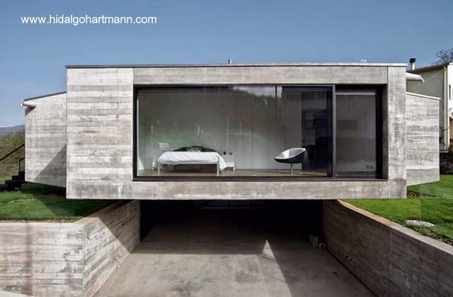 Casa residencial minimalista en Girona, España