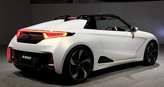 Burlappcar More Pix And Video Of The New Honda S660 Concept