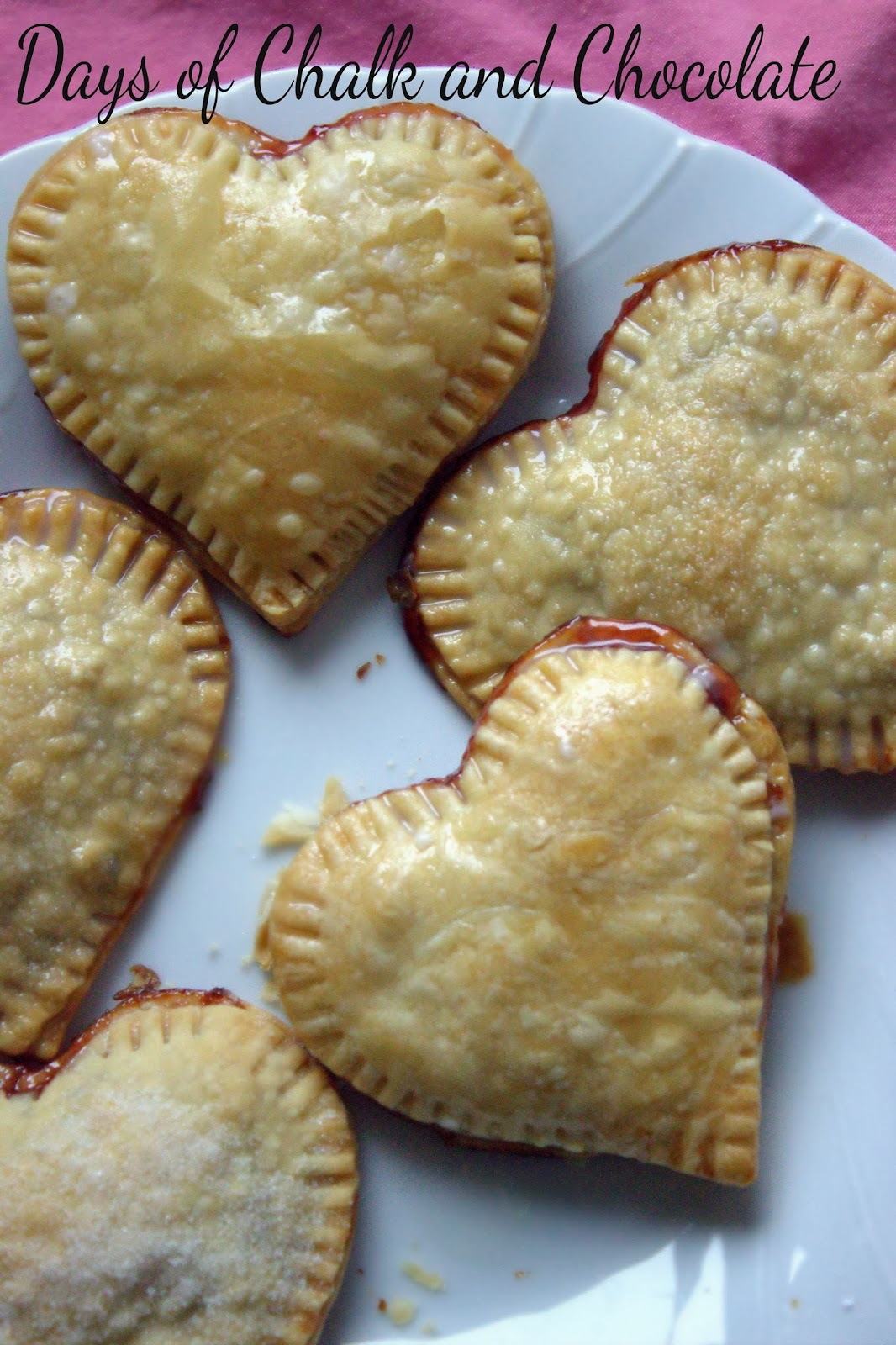 Strawberry Chocolate Hand Pies (Valentine's Day Dessert ...