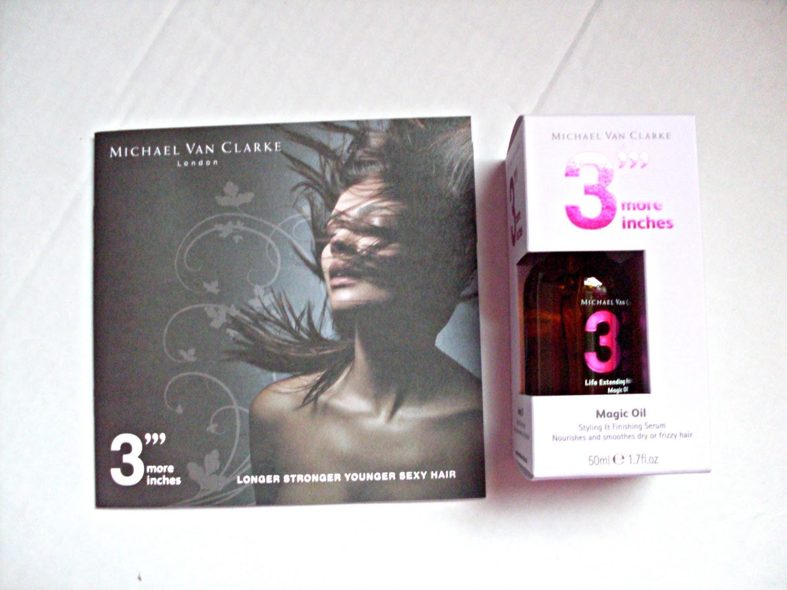 Micheal Van Clarke magic oil