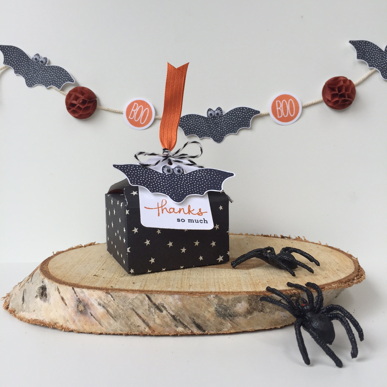 Bij margriet stampin 39 up inspiratie en verkoop stampin 39 up evp halloween doosje filmpje - Decoratie voor halloween is jezelf ...