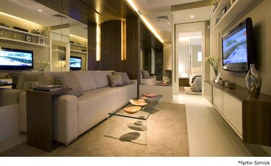 Salas De Tv Com Espelhos Na Parede ~ com espelhos salas de estar com espelhos apoiado no chão