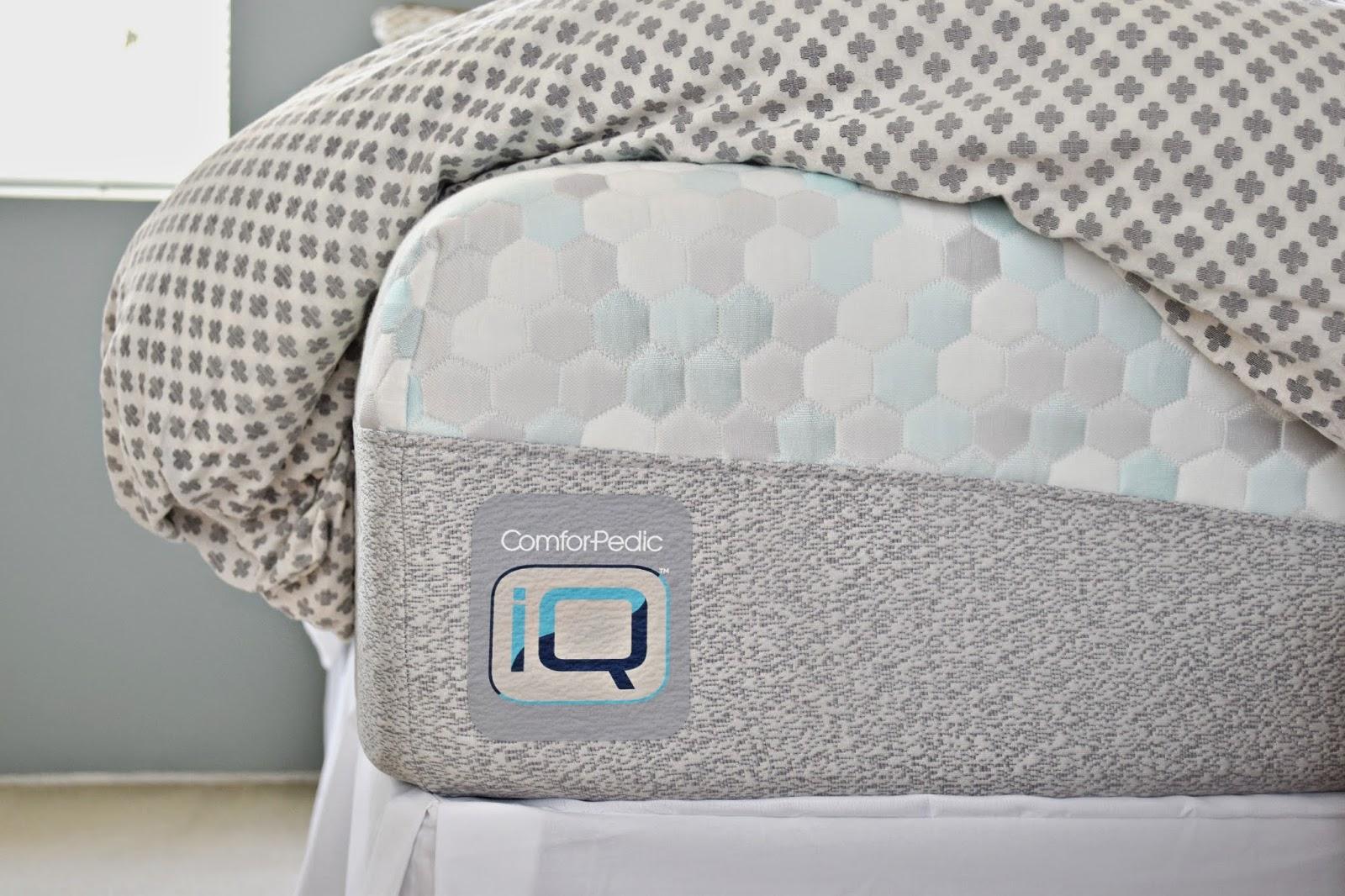 Mommy Testers, Simmons ComforPedic iQ, Comforpedic iQ mattress, ComforPedic iQ review, #UpgradeYourSleep