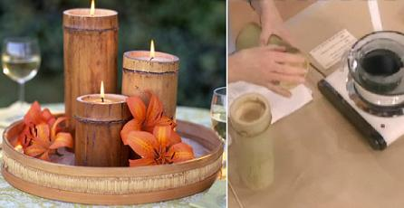 candeleros de cañas de bambú-eltallerdejazmin