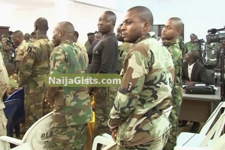 nigerian soldiers sentenced death