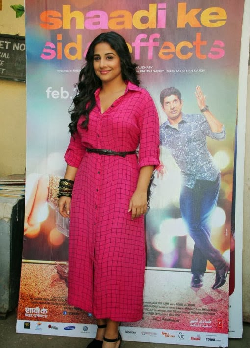 Vidya Balan Promoting Shadi Ke Side Effects