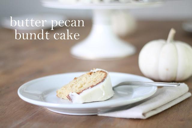 Butter Pecan Bundt Cake Recipe