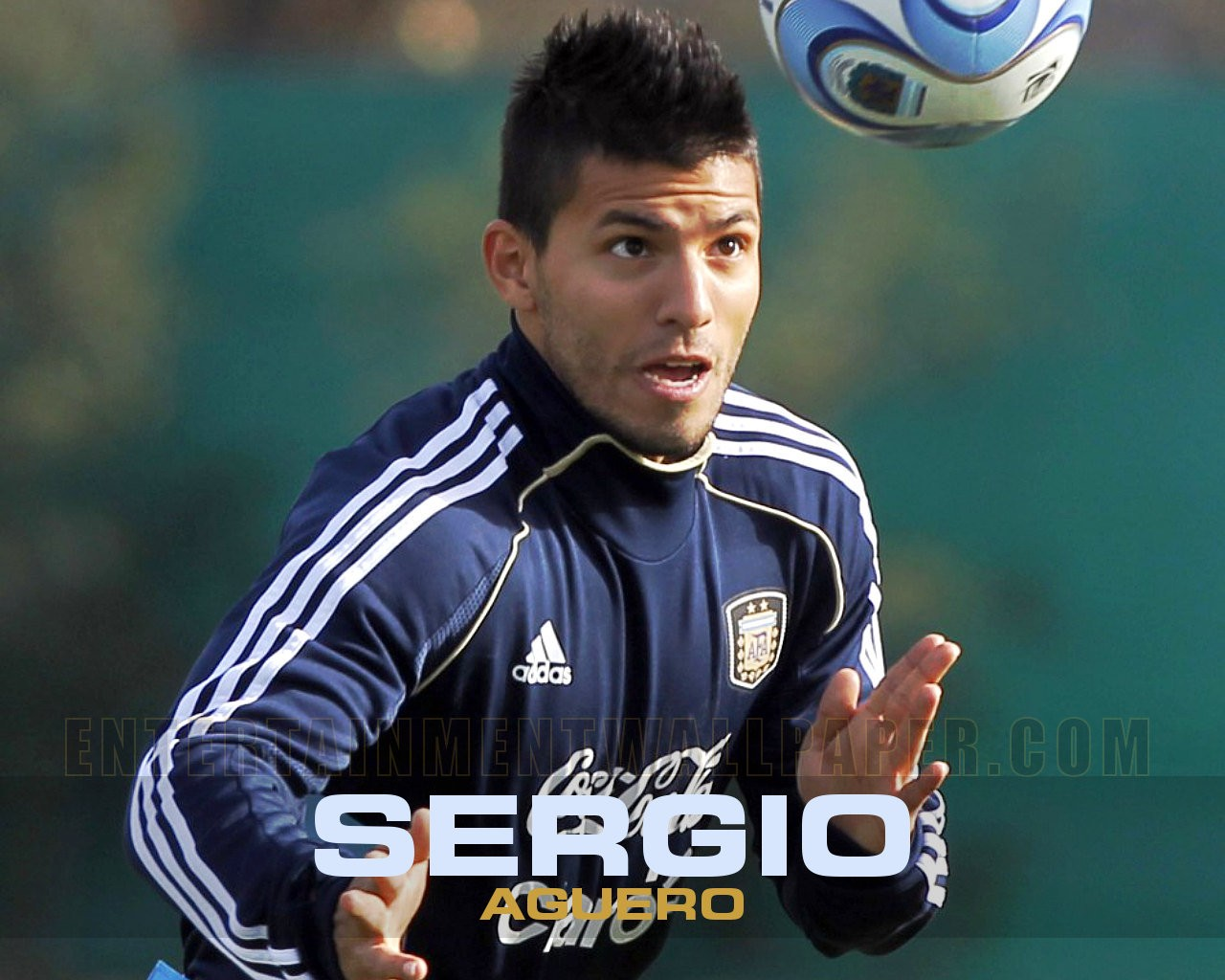 Sergio Aguero Wallpapers: All Football Players: Sergio Aguero 2012 New Wallpapers