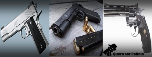 Armas de fogo: uso policial
