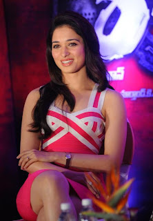 Tamanna sizzling photo shoot at Rebel Trailer Launch