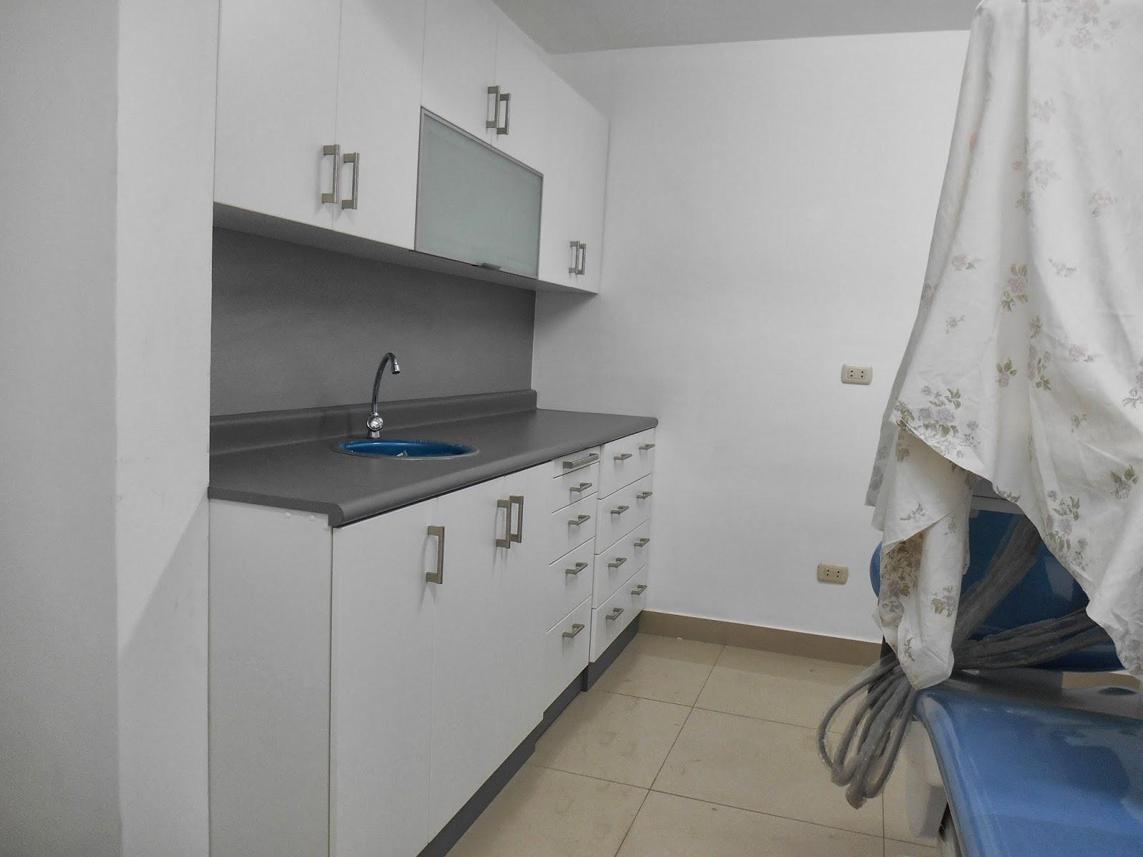 Mueble Consultorio Dental En Melamine