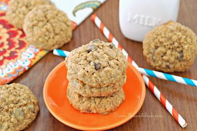 Biscoff Butternut Squash Oatmeal Cookies