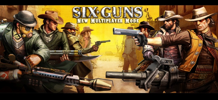 ... : Six-Guns 1.1.8 [Mod Unlimited Money] APK + SD DATA Files (Android