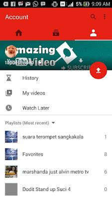 login untuk memasukan video ke youtube lewat hp