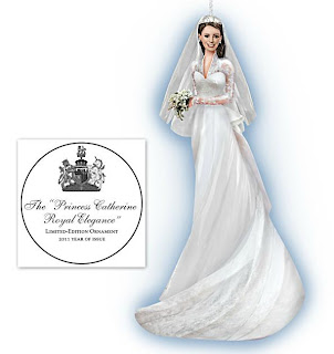 Kate Middleton Royal Elegance Ornament