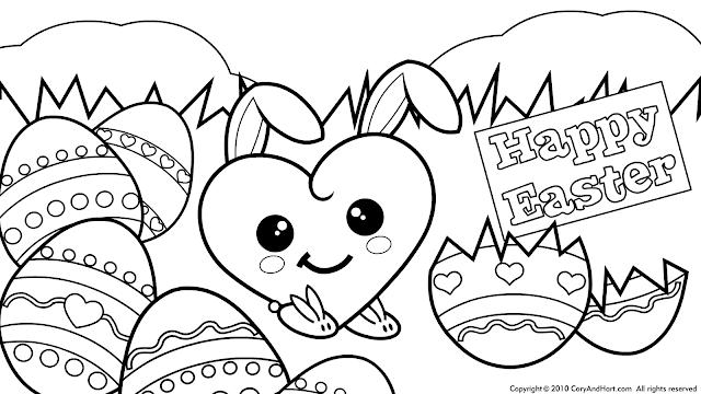 Easter Coloring Pages DLTKs Holiday Crafts For Kids