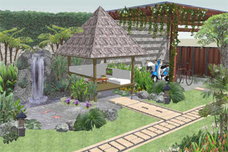 desain rumah bagian belakang tahun ini