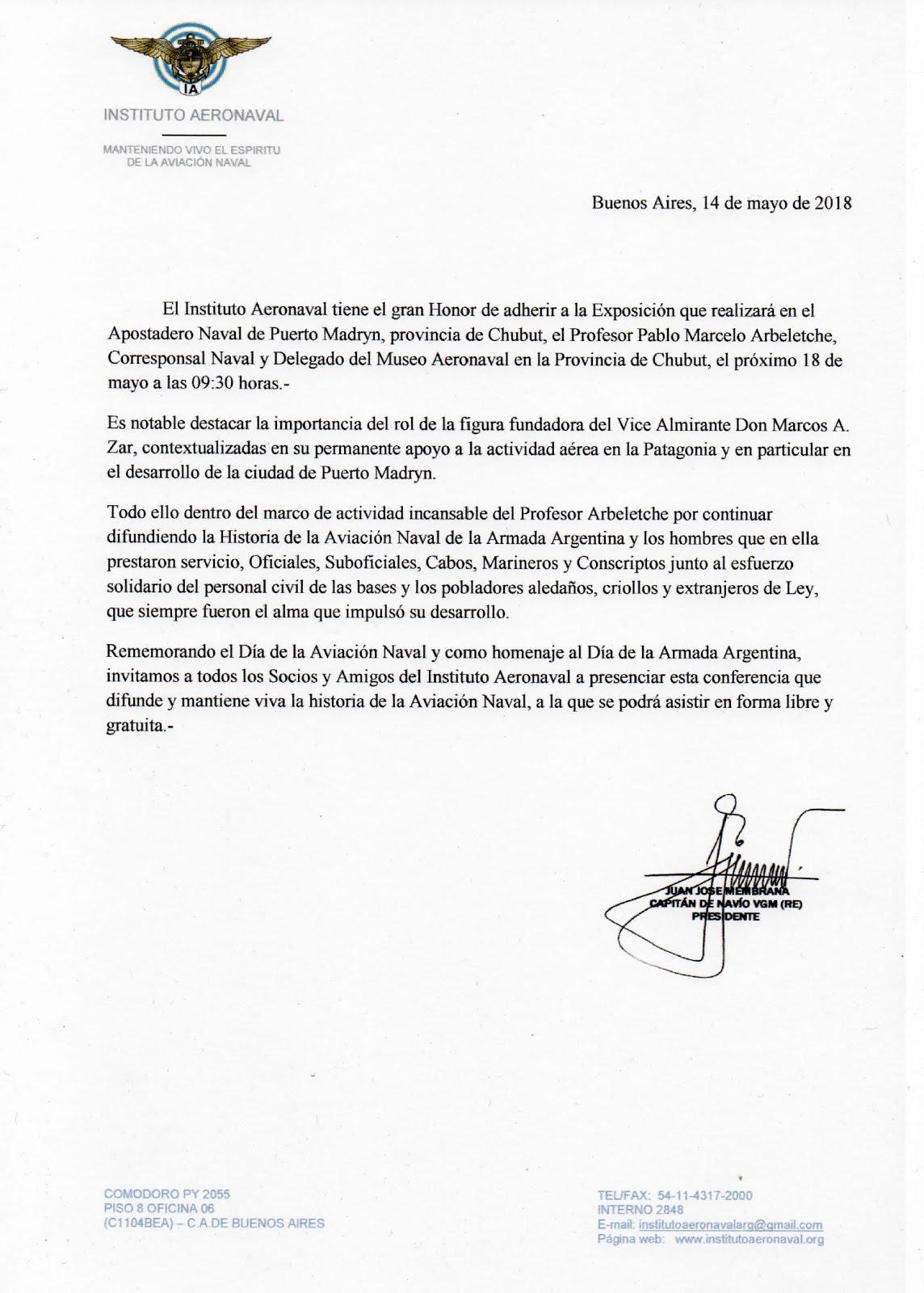 INSTITUTO AERONAVAL