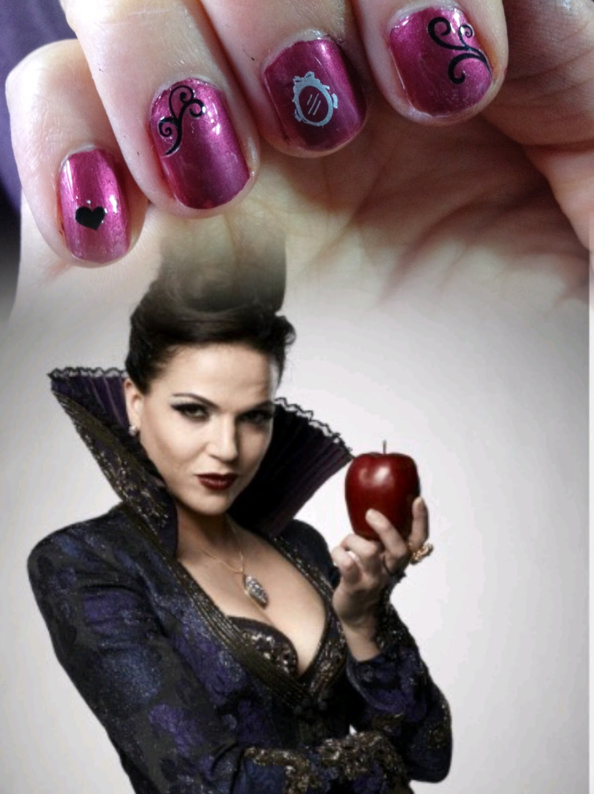 AtoZofmyMentalHead: Once Upon A Time Nail Art