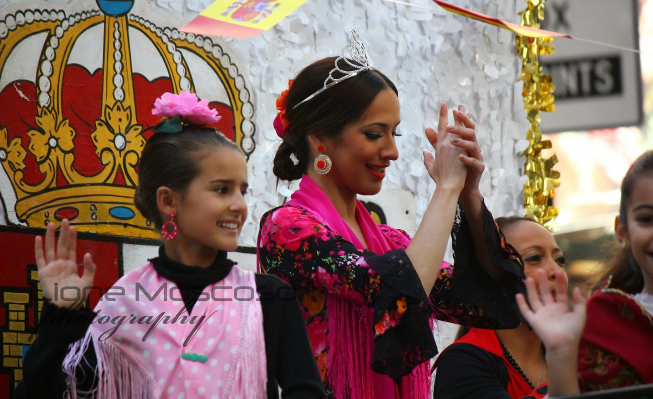 Desfile de la hispanidad de Manhattan, Nueva York 2014