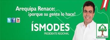DR. JAVIER ISMODES - PDTE REGIONAL DE AREQUIPA