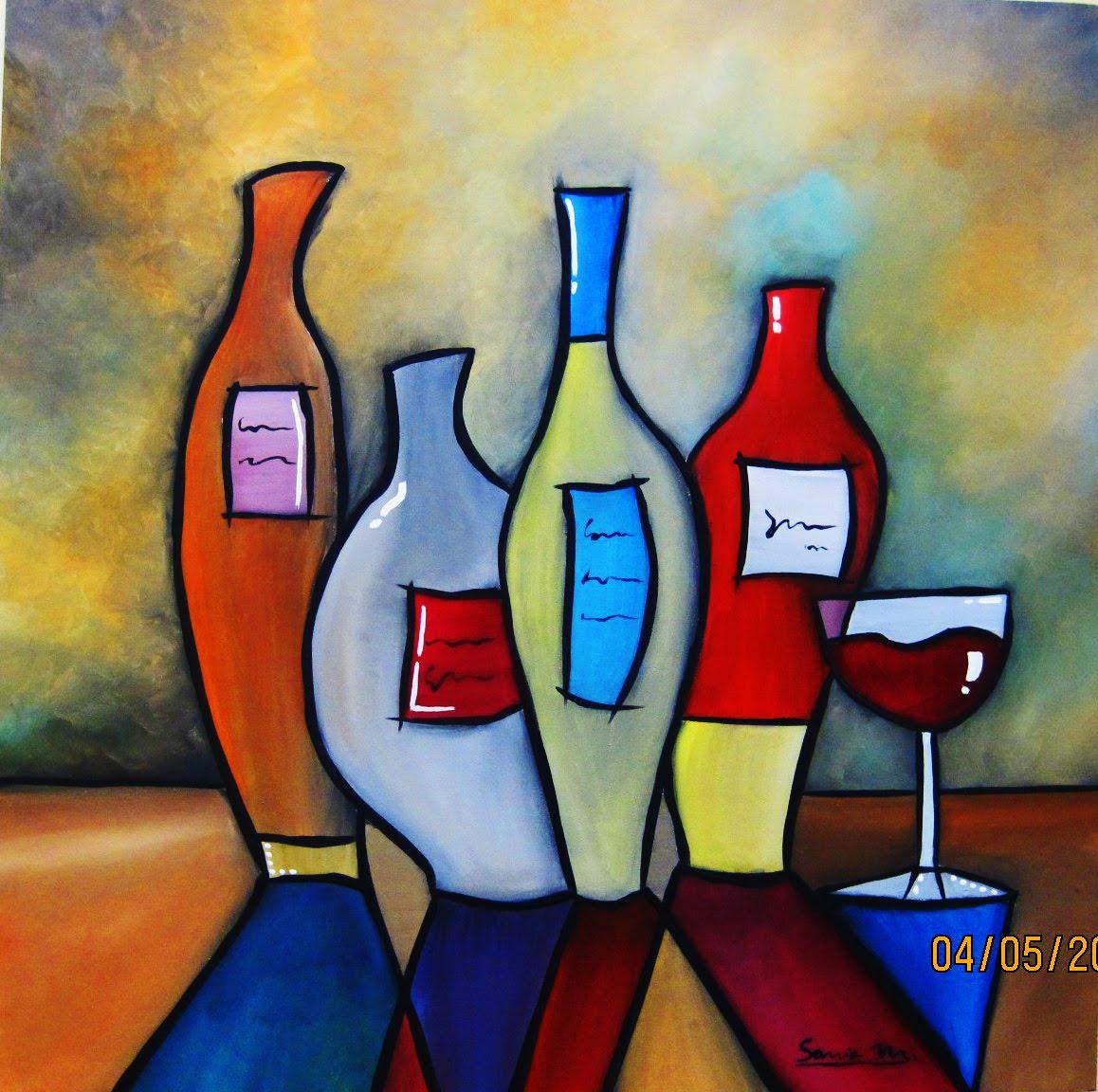 Pinturas abstractas geometricas imagui for Imagenes de cuadros abstractos faciles de hacer
