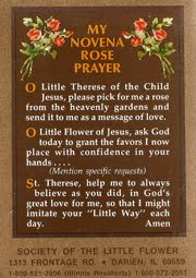Saint Theresa---the Little Flower