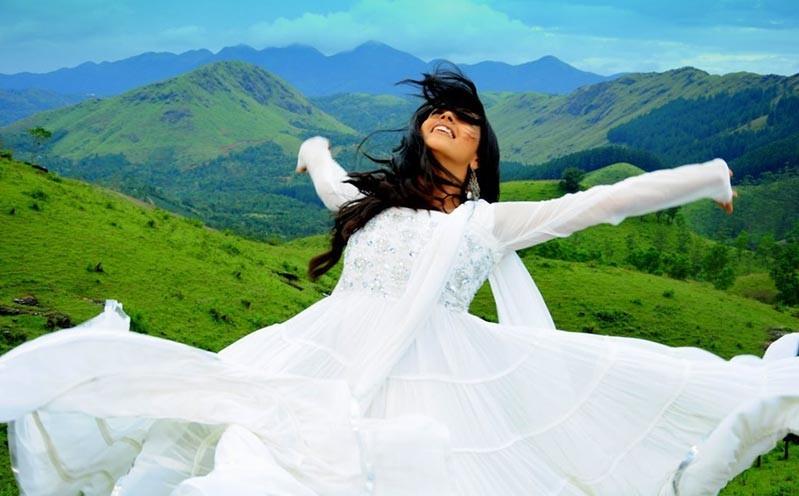 Bhavana Latest Gorgeous In Half Saree Photo Gallery Stills unseen pics