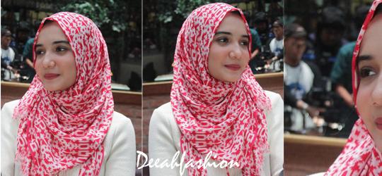 Zaskia Sungkar Kasual Hijab Style