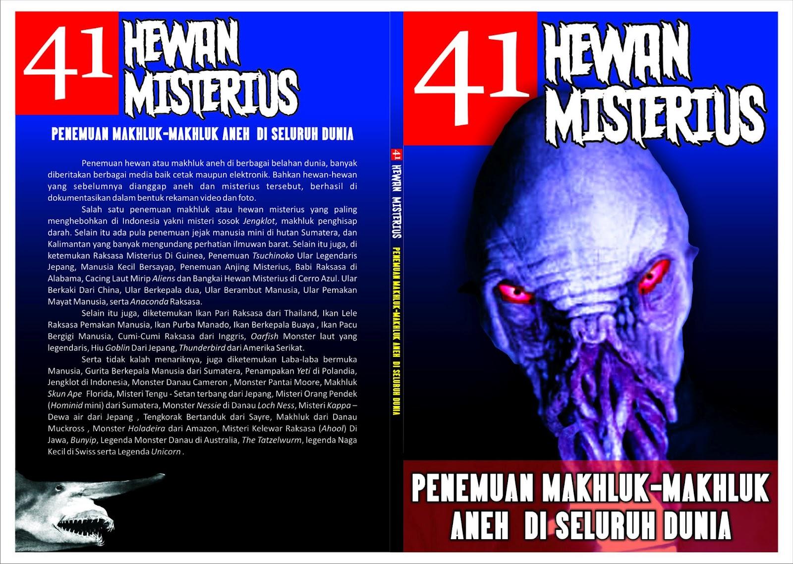 Buku Kartamedia 41 Hewan Misterius