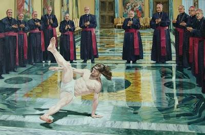 Jesucristo haciendo Breakdance 1