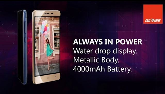 Gionee Marathon M5 Mini Smartphone Launched with 4000mAh Battery