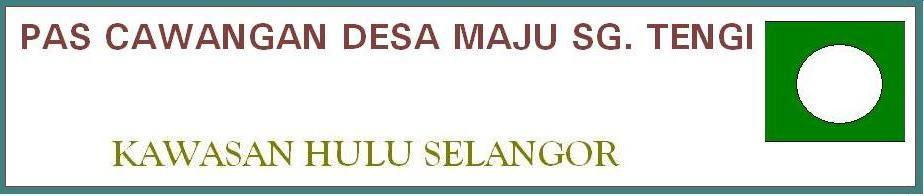 PAS CAW DESA MAJU SG TENGI