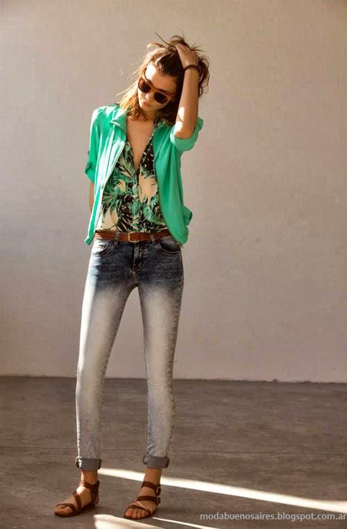 Inedita primavera verano 2014 coleccion ropa de mujer.