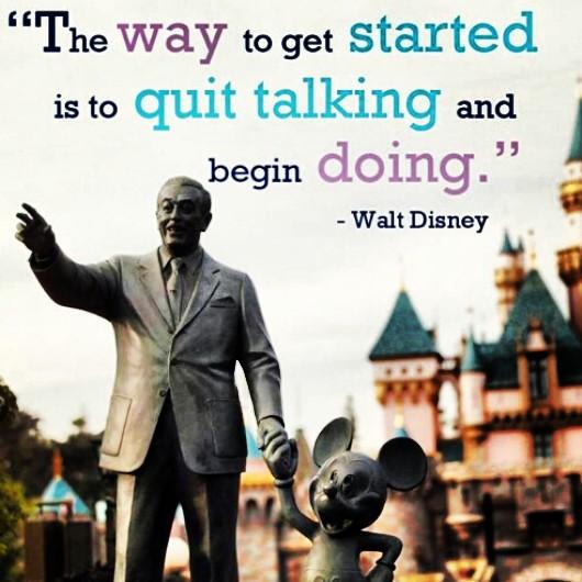 walt disney as a leader