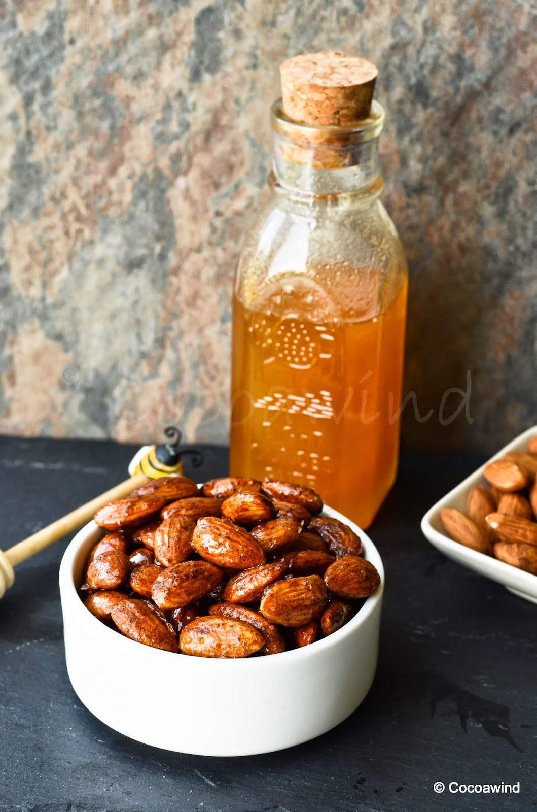 Roasted Candied Almonds: Honey-glazed Roasted Almonds